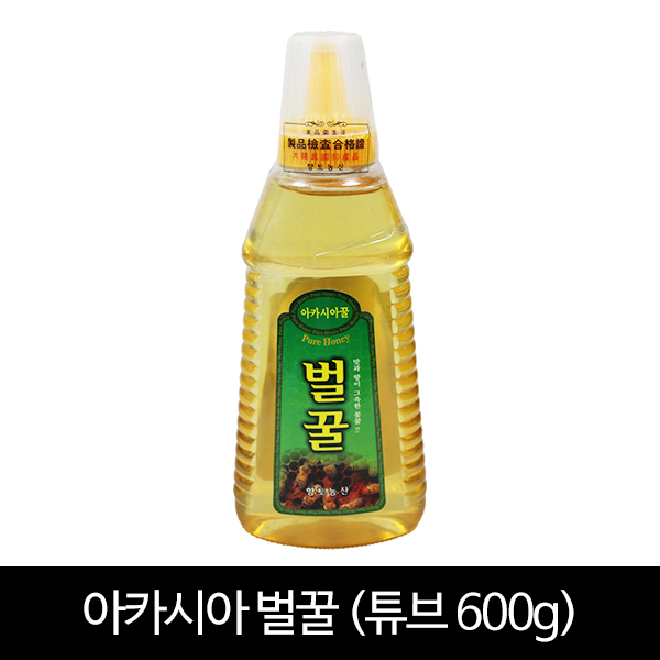 아카시아꿀 600g (포장:튜브)