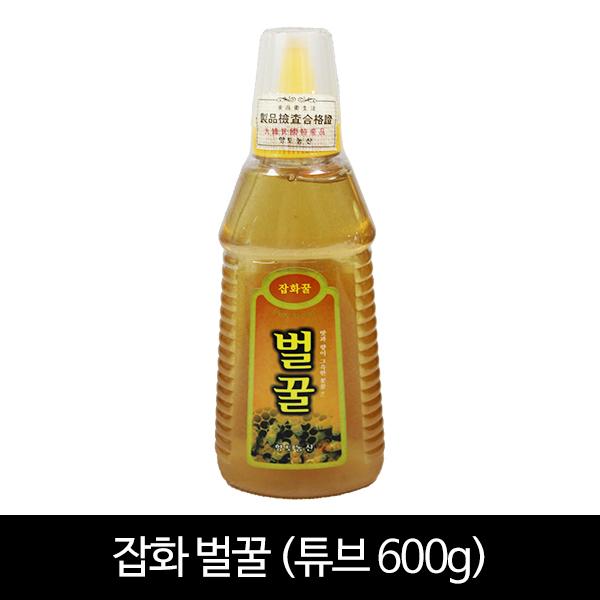 잡화꿀 600g (포장:튜브)